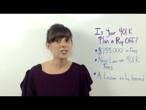 Is Your 401K Plan a Rip Off?