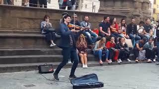عزف منفرد   عازف الشارع   كمان