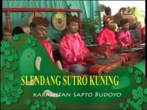Lirik Lagu SLENDANG SUTRO KUNING Sragenan Karawitan Campursari - AnekaNews.net