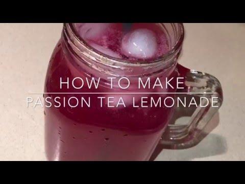 DIY Passion Tea Lemonade