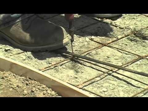 Build a Concrete Walkway