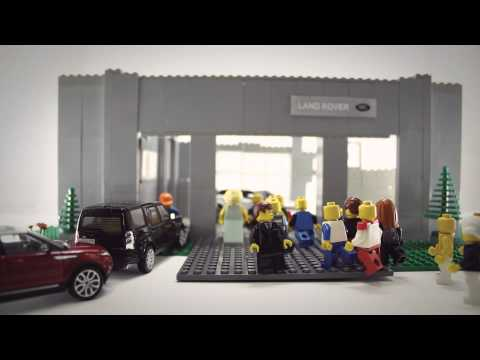 Land Rover   Jaguar Lego Animation