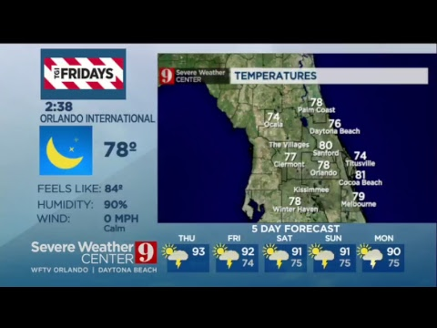 WFTV Eyewitness News 9 Live Stream
