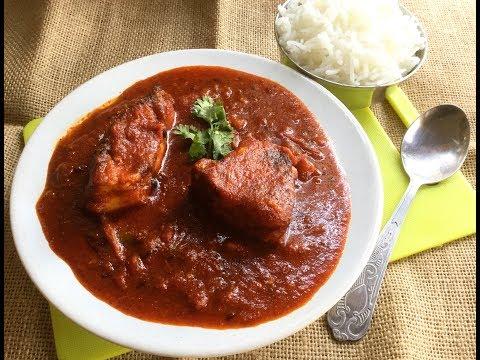 Tomato Katla (without Onion) | Fish in Tomato Gravy Recipe | Indian Style Fish Recipe - Bengali #305