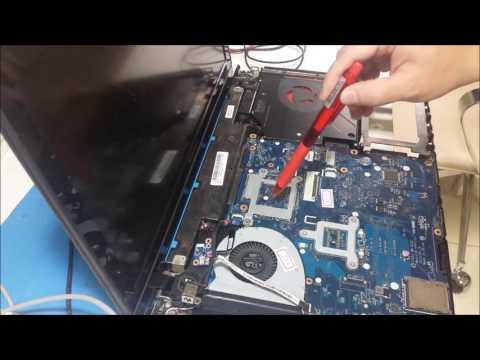Reparo Lenovo ideapd Y510P sem imagem. Placa mãe VIQY1 NM-A032