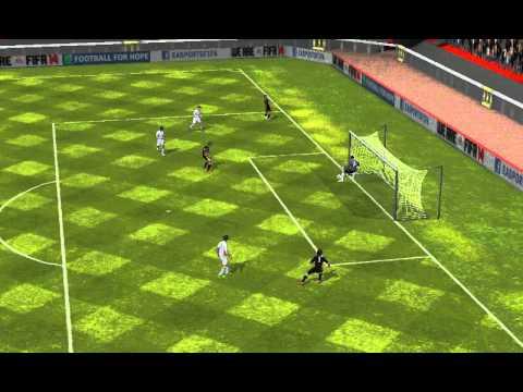 FIFA 14 Android - 11 ИГРОКОВ MESSI VS 11 ИГРОКОВ FALCAO