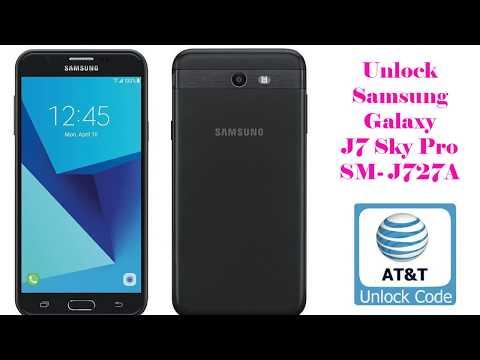 Unlock Samsung Galaxy J7 Sky Pro J727A AT&T Instant