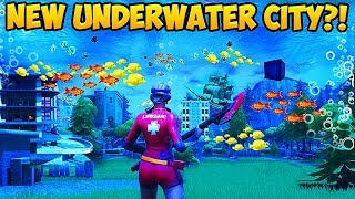 NEW UNDERWATER CITY?! *SEASON 6 LEAK* - Fortnite Funny Fails and WTF Moments! #305