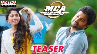 MCA (Middle Class Abbayi) Teaser || Nani,Sai Pallavi || Devi Sri Prasad || Sriram Venu