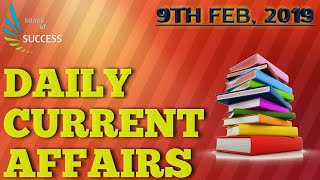 Download #9th feb 2019/daily current affairs/for all competitive exams/#latest news Video