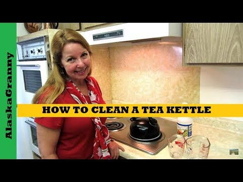 How To Clean Your Tea Kettle