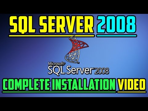 How To Install SQL Server 2008 Management Studio Correctly!