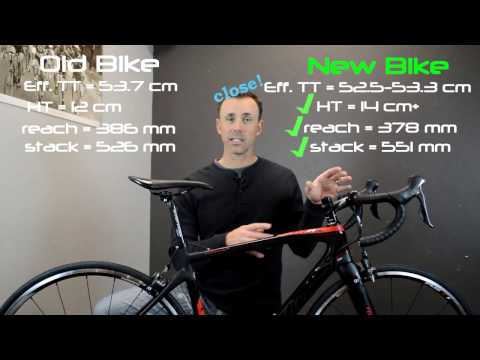 Tips for buying a new bike - Get the right size frame!
