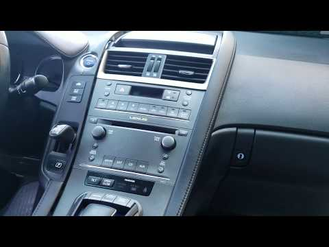How to Remove Radio / Navigation  from Lexus HS250 2010 for Repair.