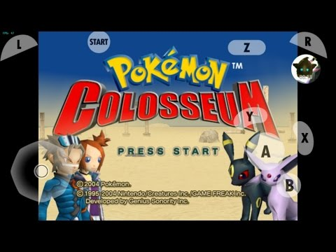 Pokemon Colosseum [Dolphin Emulator 5.0 for Android Test/Demo]