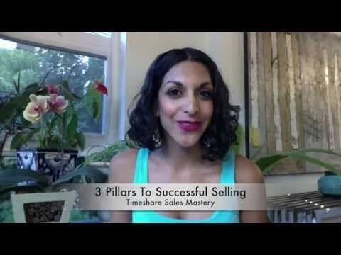 3 Pillars To Successful Selling - Part 1 of 3