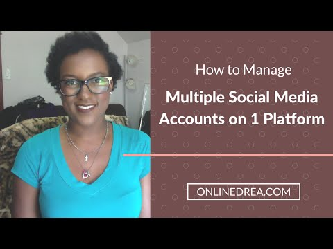 How to Manage Multiple Social Media Accounts on the Same Platform