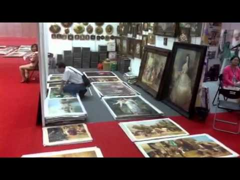 Canton fair, how to buy paintings