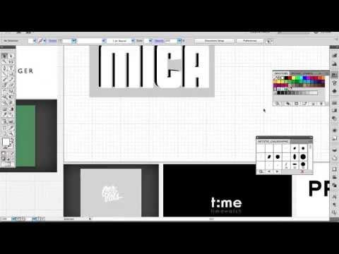 Vlog #3: Jewellery Logo Design (WIP)