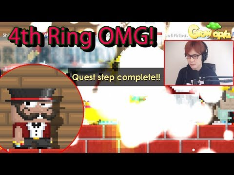 Growtopia | BenBarrage gets his 4th ring! Ring of...?!
