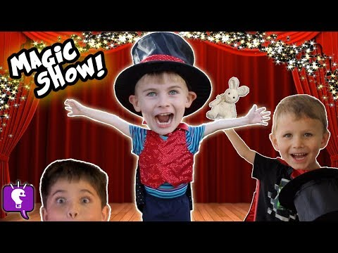 HobbyKadabra Silly Kids Magic Show!