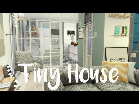 The Sims 4: Speed Build - TINY HOUSE / WITH CC LINKS