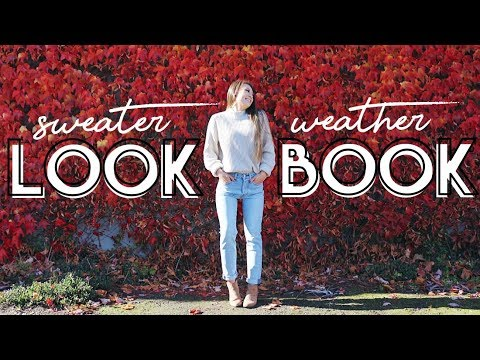 Sweater Lookbook // OOTW in Sweaters! // 5 Fall Outfits