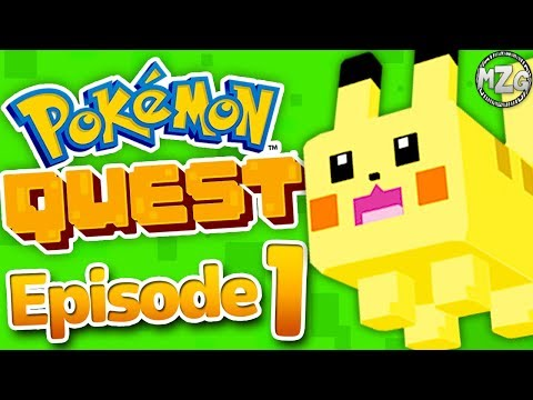 NEW POKEMON Game!? - Pokemon Quest Gameplay Walkthrough - Episode 1 - World 1! (Nintendo Switch)