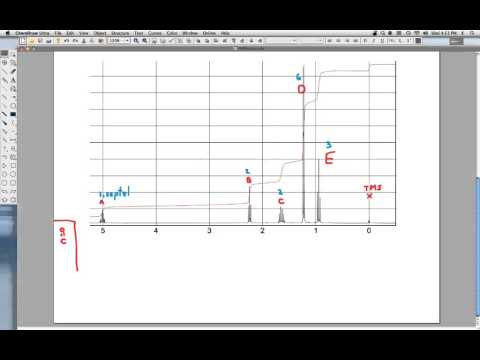 Determining Organic Structures From Irnmr