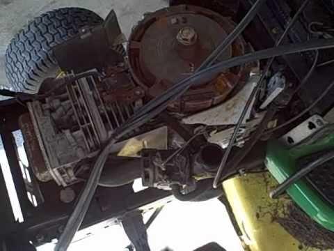 Part 2 - How to Repair Briggs/John Deere LA115 19.5 HP Engine - Troubleshooting