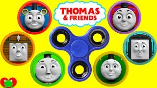 Download Thomas The Train Fidget Spinner Play Doh Surprises Best Learn Colors For Preschool Video