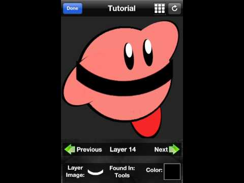How to make Kirby your emblem in Call of Duty:Black ops 2 | iOS tutorial
