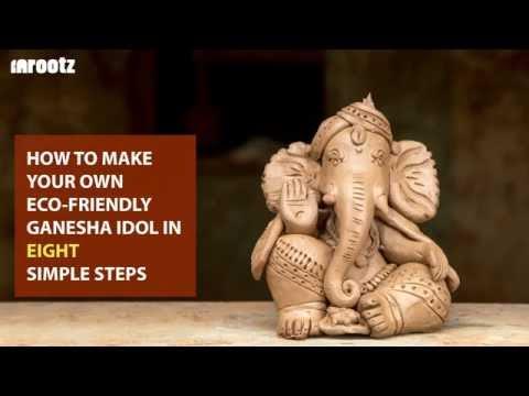 InRootz - How to make your own Eco-Friendly Ganesha Idol