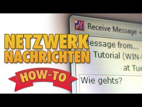 Nachrichten im LAN versenden [Deutsch]