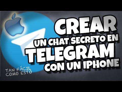 Cómo abrir un chat secreto con Telegram en tu iPhone