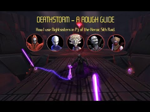 Rough guide to using Deathstorm, HSTR P3 to P4 double enrage