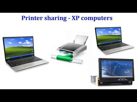 How to share Canon printer between XP computers & sharing between host(WIN 7) & XP computer on Vbox
