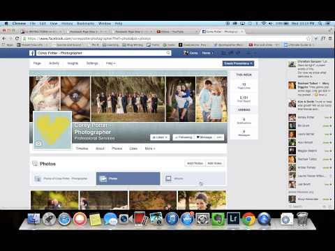 How to Tag People In Photos as a Facebook Fan Page
