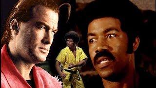 Steven Seagal VS Black Dynamite Michael Jai White & Black Samurai Jim Kelly! ☯Top 3 Kung Fu Fighters