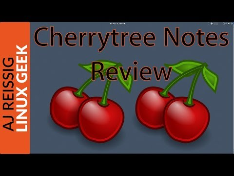 Cherrytree Notes Review
