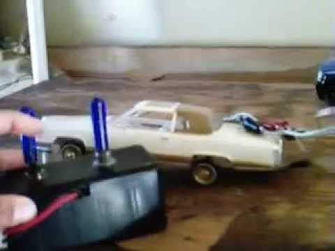 Lowrider model car - Cadillac Hopper