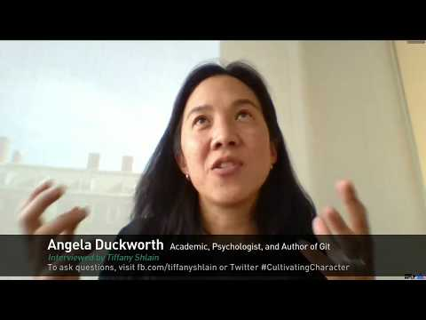 Character Day Interview w/ Angela Duckworth