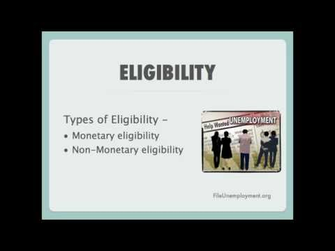 Pennsylvania Unemployment Eligibility Requirements