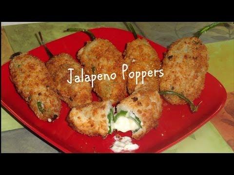 Crispy Jalapeno Poppers Video Recipe by Bhavna