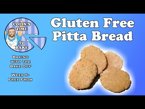 Gluten Free Pitta Bread | GBBO 2015 Technical Challenge | Week 5- Free From