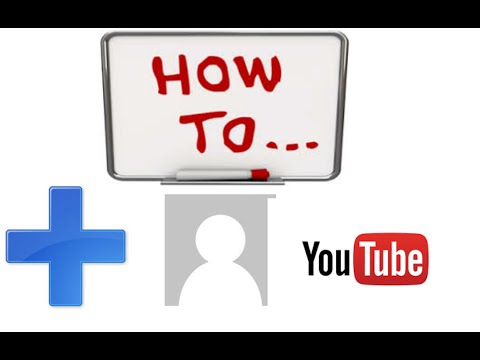 HOW TO CHANGE/ADD A PROFILE PICTURE FOR YOUR YOUTUBE CHANNEL