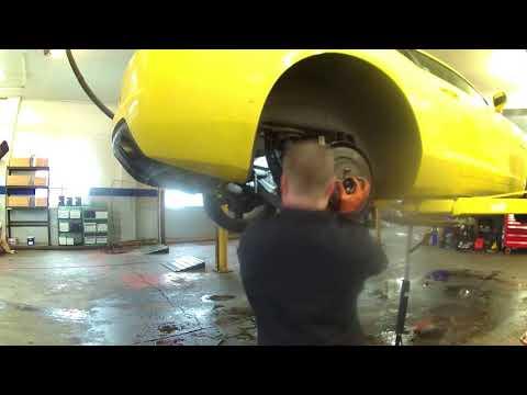 Rear CV axle replacement 2010 Chevrolet Camaro.  Install, remove or replace