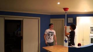Water bowl prank FAIL (Bucket Prank)