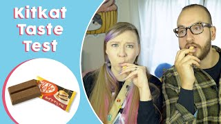 Special Kit Kat Taste Test