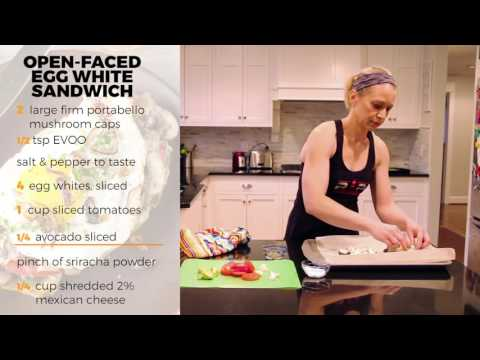 Open faced Egg White Sandwich- RP Kitchen with Lori Shaw